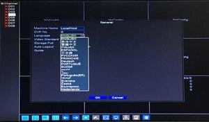 Image 4 - Red Panel Hi3536D Xmeye Audio 5MP 4CH 4MP 8CH 8 Channel H.265+ 48V POE Onvif CCTV DVR NVR Network Video Recorder