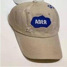 Ader Error 2021 Letter Embroidery Hole Baseball Men Women Hip-Hop Four Seasons Sports Peaked Cap Ajdjustable