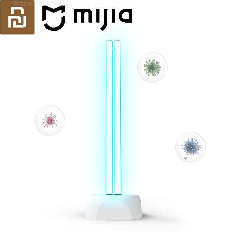 Youpin Huayi Household Disinfection Sterilize Lamp 38W UV Ozone Germicidal Lamp 360° Light Disinfection 40㎡ Disinfect Sterilizer