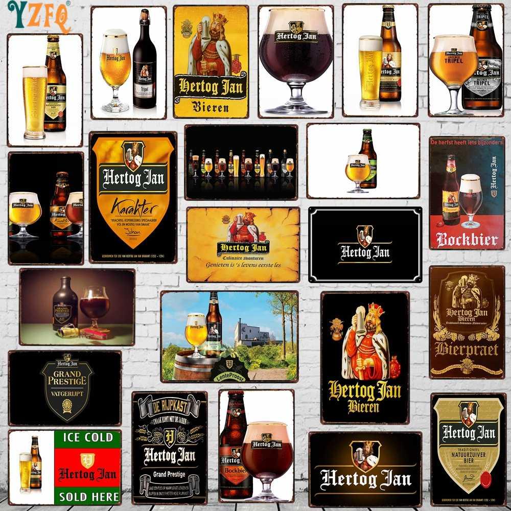 Piwa metalowy znak sfatygowany szykowny do picia plakat na ścianę domu restauracja do baru z muzyką sztuki dekoracja do męskiej jaskini 30X20CM DU-8031A