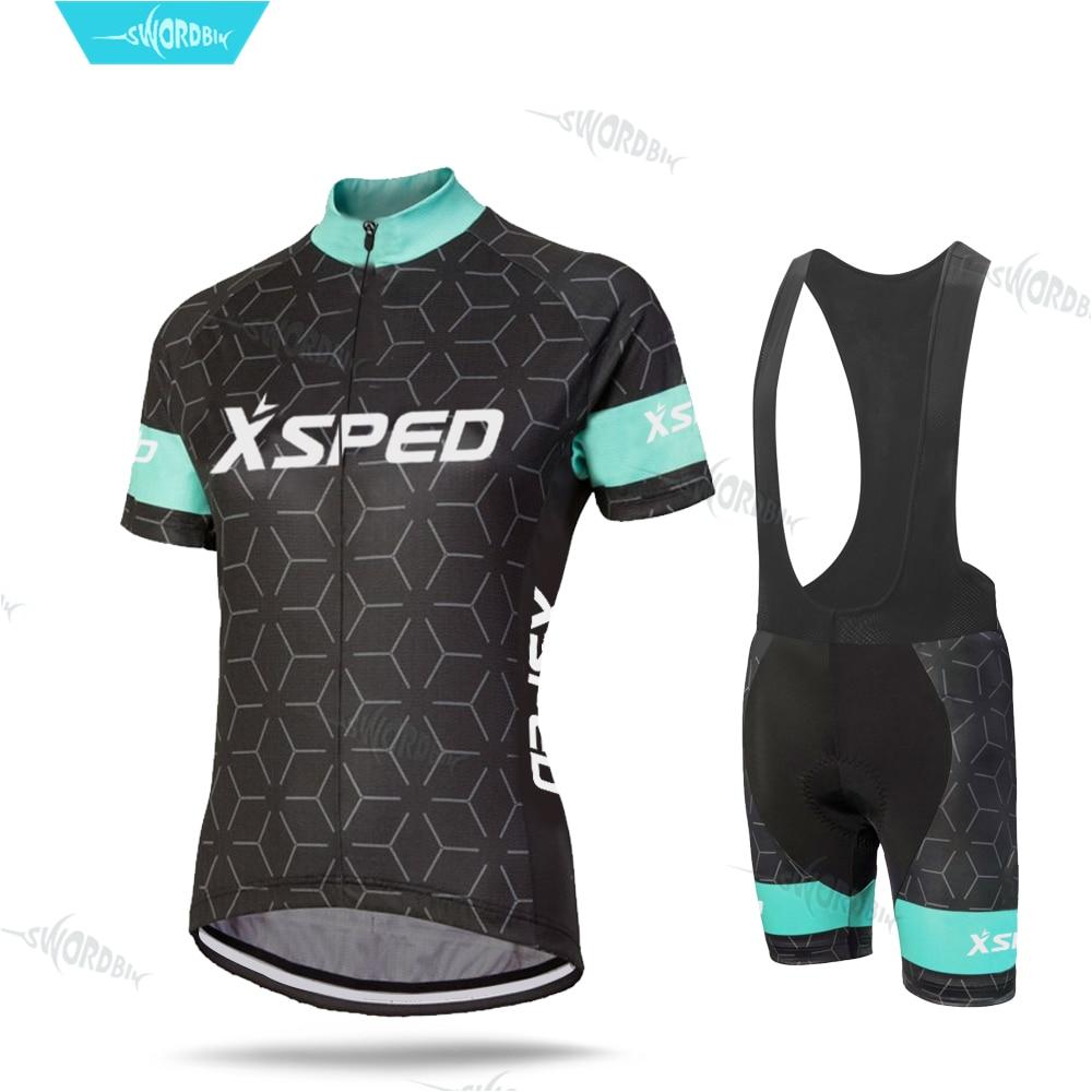 Cycling Clothes Northwave Women Bicycle Clothing Short Sleeve Jersey Set Mountain Bike Uniform Lady Suit Summer Bib Shorts Kit