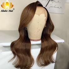 Aliafee Hair Wigs Body Wave 13x4 Lace Front Wig