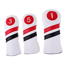 Sports golf head cover Driver Wood Head Cover Golf Club set Head Covers golf putter Golf Head Protector Cover golf accessories golf club putter head cover case yellow black 10 pack page 2