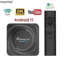 2021 Smart TV Box Android 11 8GB RAM 64G 128GB ROM RK3566 8K TVbox 24fps 2.4G/5G WiFi 1000M Google Play Youtube FamilyCloud 32GB