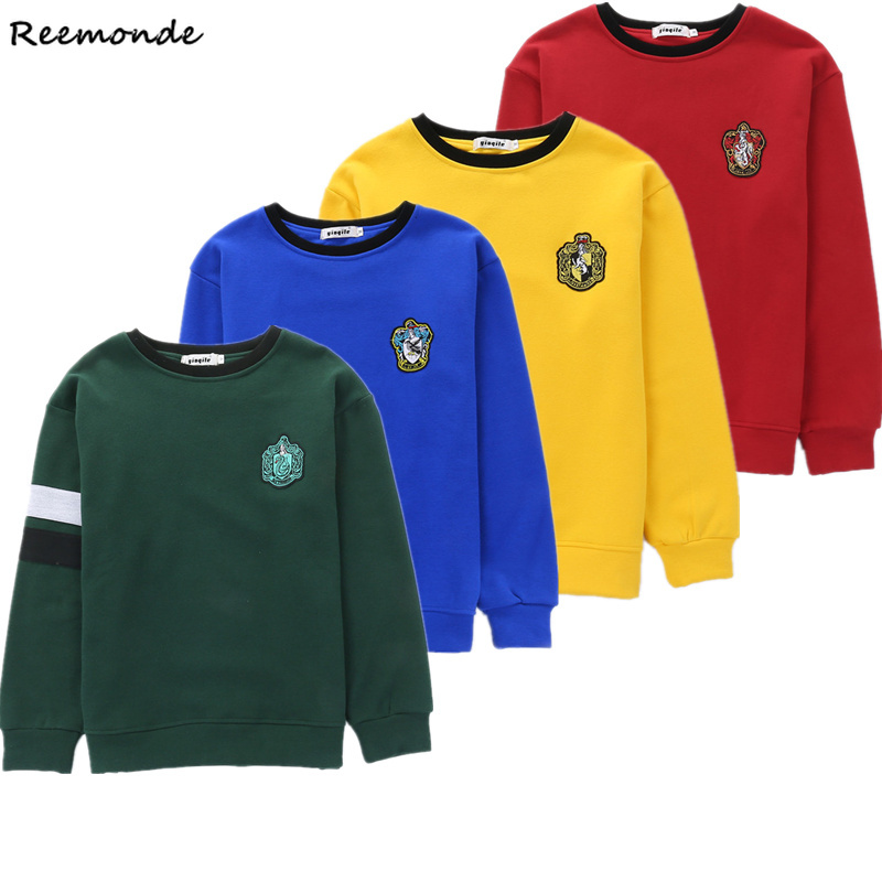 Adult Hufflepuff Jumper Ravenclaw Hoodie Cosplay Slytherin Sweatshirt Uniform Costume Gryffindor Jumper Sweater Hermione Scarf