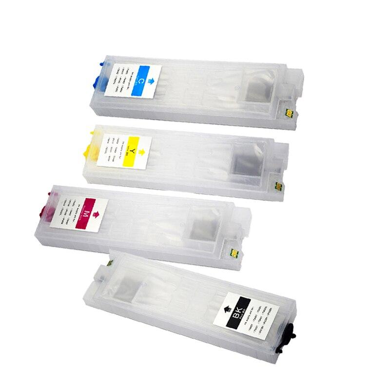 Vilaxh T945 T9451-T9454 cartouche d'encre rechargeable pour Epson T945xl main d'oeuvre Pro WF-C5290 WF-C5790 imprimante WF-C5210 WF-C5710