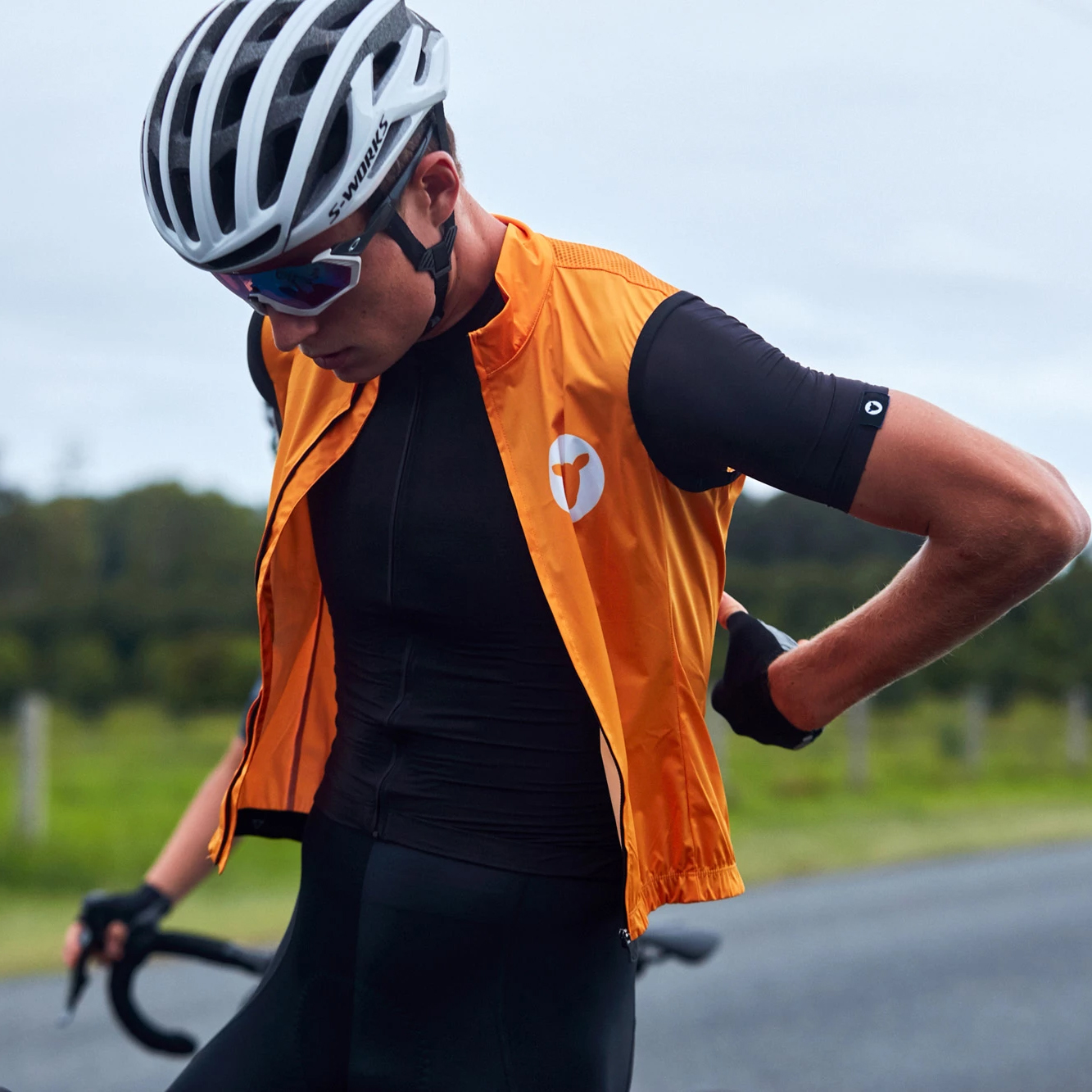 2019 Black Sheep Autumn Super Light Windproof Cycling GILET Men Or Women Cycling Windbreak Vest Mtb Wind Vest With Back Pocket