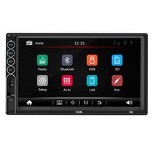 GloryStar 7inch 2 Din Car Radio MP5 Stereo Receiver Auto radio Car Stereo Audio Radio Mirror Link Support Rear Camera