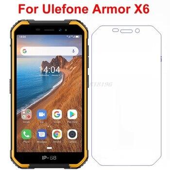 Перейти на Алиэкспресс и купить Закаленное стекло для Ulefone Armor X6, защитная пленка 9H на экран Ulefone Armor X 6 IP68, Защитная пленка для Armor X6