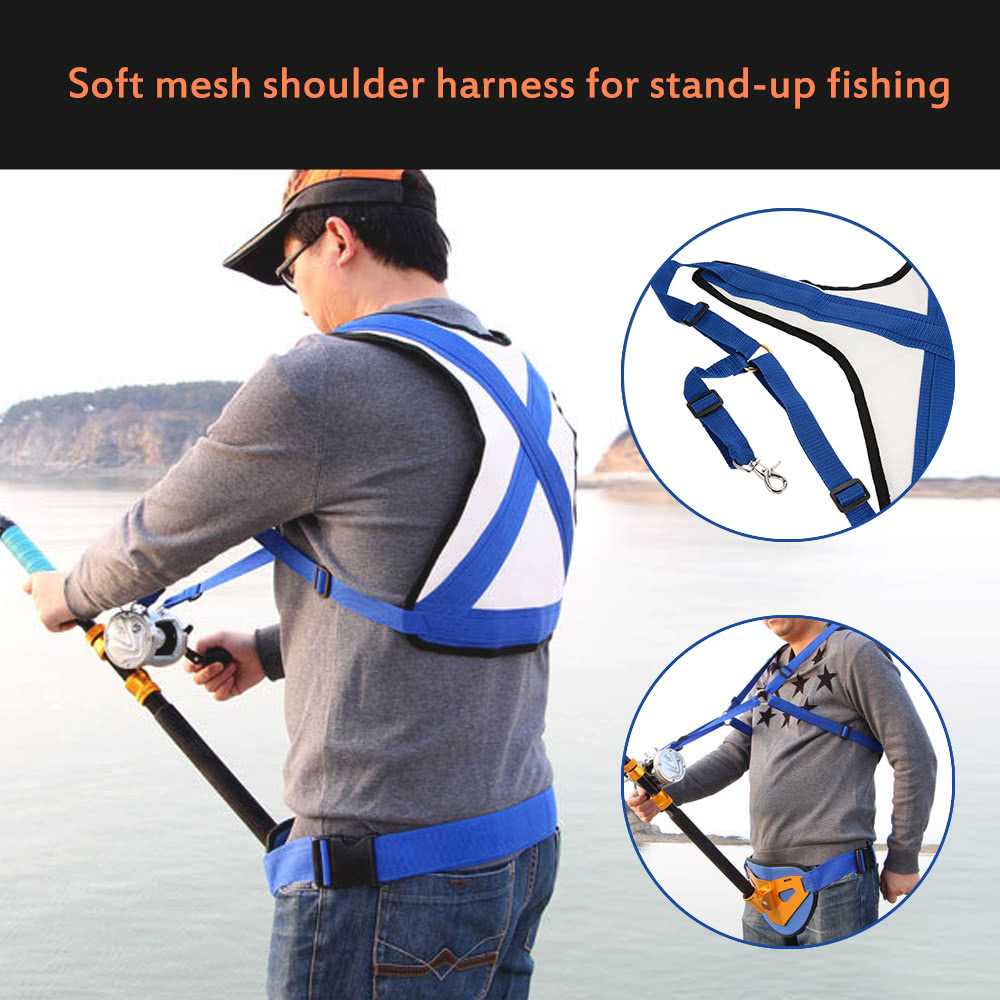Big Fish Sea Fishing Shoulder Harness Distributing Load Preventing Sprains Shoulder Instability Fishing Tackles|Fishing Tools| |  - title=