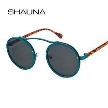 Женские и мужские винтажные очки shauna круглые брендовые дизайнерские