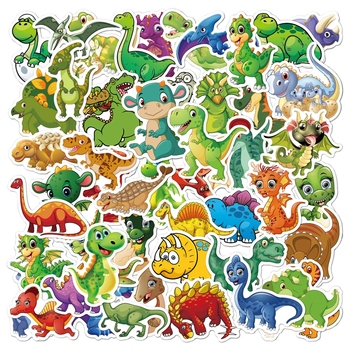 50 sztuk naklejki samochodowe Laptop bagaż wodoodporny Cute Cartoon zwierząt bagaż naklejki dla kid Phone Pack Guaitar naklejki na deskorolkę tanie i dobre opinie CN (pochodzenie) 0 01cm(0 004in) 3~10cm(1 17-3 9in) Animal Stickers Suitcase Sticker Car Sticker Sticker Decals Stickers