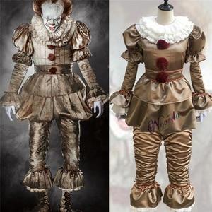 Image 1 - Killer Clown Cosplay Kostuum Maskerade Partij Office Party Apparatuur Masker Killer Camouflage Halloween Kostuum