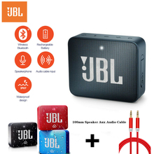 Brand new Original JBL Go 2 GO2 Mini Portable Wireless IPX7 Waterproof Bluetooth Speaker with Subwoofer Bass Effect with mic