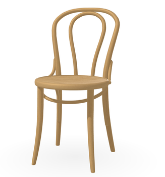 Bent wood dining chair thonet chair French retro chair old wood dining chair American dining chair Sonacone chair