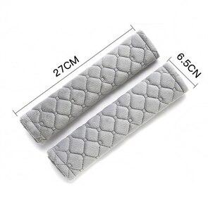 Image 2 - Housses de ceinture de siège en velours doux