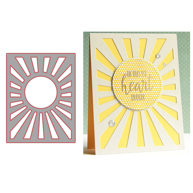 Decorative Rectangles x 2 Metal Cutting Die Brand New Cardmaking scrapbooking
