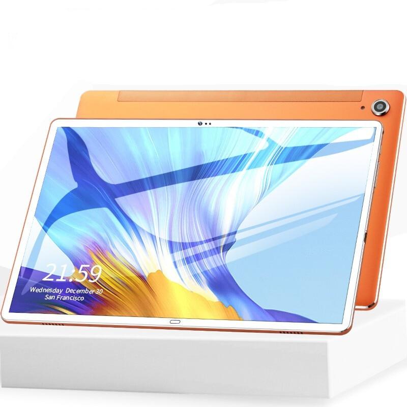 Android 8.0 10.6 Polegada tablet pc 10 deco núcleo 4gb ram 128gb rom 4g lte telefone chamada 13mp câmera escritório jogos para estudantes a aprender