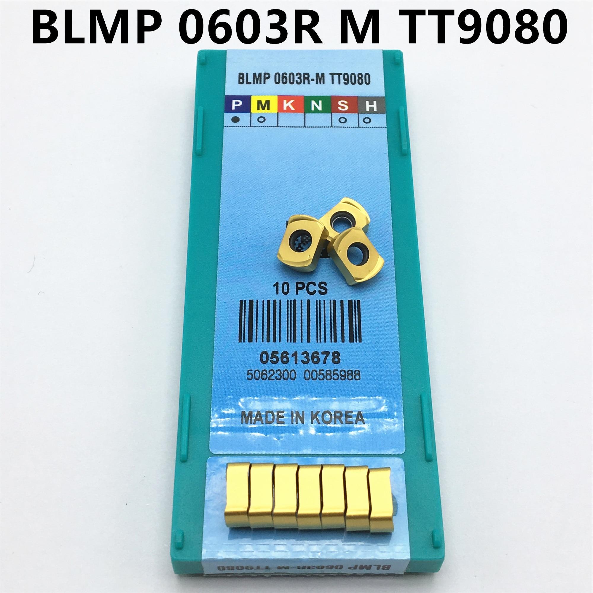 100PCS Carbide Insert BLMP 0603R M TT9080 Lathe Tool BLMP0603R Internal Turning Carbide CNC Machine Tool CVD + PVD Milling Tool