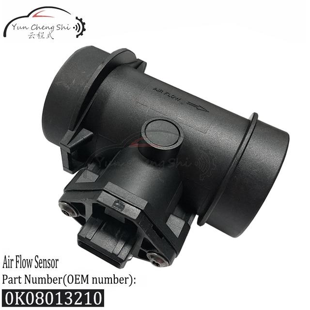 0K08013210 MAF toplu hava akış sensörü metre için Saab 900 II 2.0L 2.3L 2.5L Kia Sephia Spectra Carens 1.8L Sportage 2.0L 0280217105