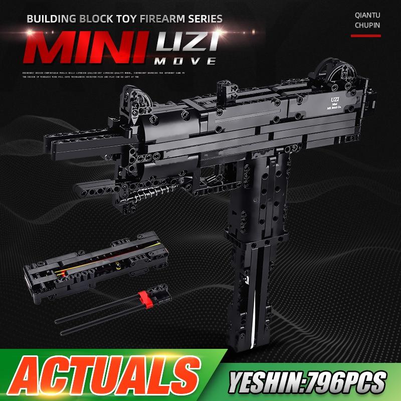 MOULD KING 14006 The MOC UZI Gun Model Building Blocks