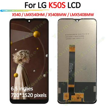 6 5 #8221 dla LG K50S LM-X540 wyświetlacz LCD montaż digitizera ekranu dotykowego zamiennik do LG K50S wyświetlacz LCD LMX540HM tanie i dobre opinie KCROPREP CN (pochodzenie) Pojemnościowy ekran 3 For LG K50S LCD i ekran dotykowy Digitizer black 12 months Tested one by one before shipping