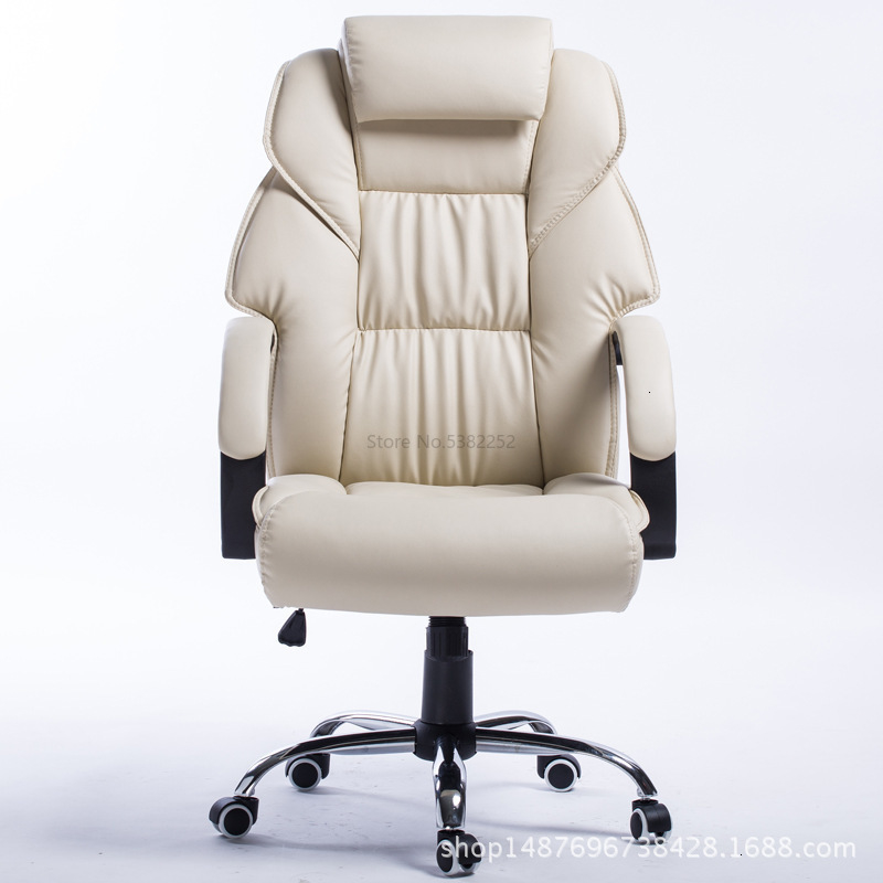 Genuine Leather To Work In An Office Chair Class Chair Computer Chair Anji Household Swivel Chair You Boss Chair