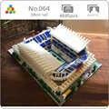 YZ 064 World Famous Architettura Portogallo Campo di Calcio Stadio 3D Modello Mini Diamante di Costruzione di Piccoli Blocchi Mattoni Giocattolo senza Scatola