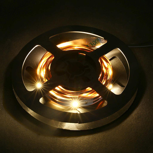 Image 1 - LED רצועת אור SMD 5050 גמיש אור USB/סוללה מופעל 1M 2M 30 נוריות רצועת שולחן העבודה דקור מסך טלוויזיה רקע תאורה D40