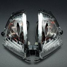 Powersports arrière clignotant éclairage LED indicateur Compatible avec Suzuki GSXR600 GSXR750 K6 2006-2007 GSXR1000 K5 2005-2006