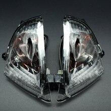Powersports traseira turn signal light led indicador de luz compatível com suzuki gsxr600 gsxr750 k6 2006-2007 gsxr1000 k5 2005-2006