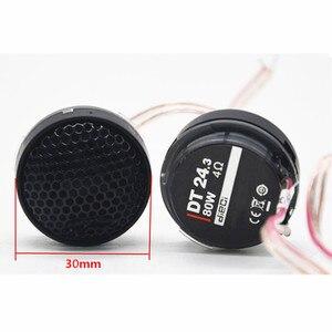 Kit de Tweeter à Membrane en soie | Enceinte, dôme de 1 pouce de 4 ohms, voiture haute, Audio, petit tweters lisses, diamètre 30mm