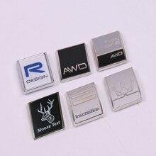 Emblem Badge Sticker Rear Trunk Sticker For Volvo S80 XC60 XC90 XC70  C70 V60 V90 XC40 S60 S90 Volvo AWD RDESIGN Inscription