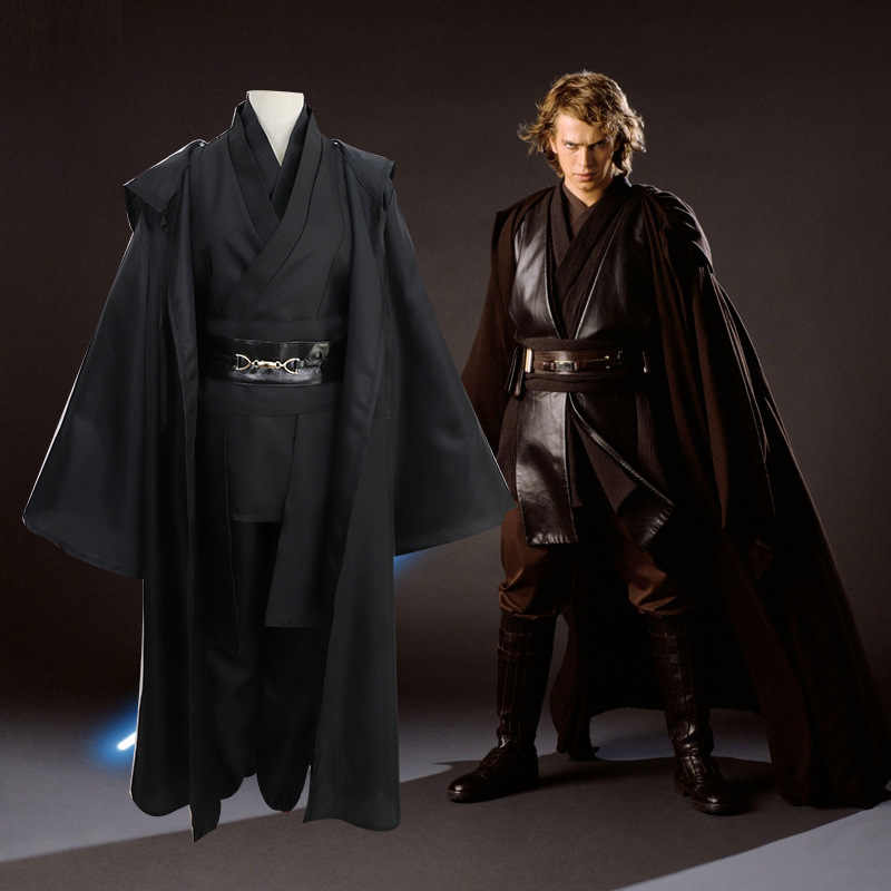 Star Wars Jedi Knight Cosplay kostüm Anakin Skywalker Kostüme Anzug Star Wars vollen satz