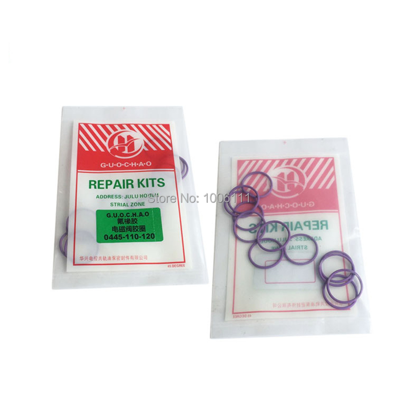 FOR BOSCH 110 120 Diesel Common Rail Injector Electromagnetic Valve Seal Washer Ring Repair Kits|Valves & Parts| |  - title=