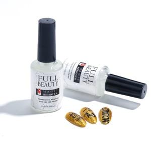 Image 5 - 15ML Nail Gel Magic Remover Soak Off Gel Polish Degreaser for Nail  Primer Cleaner Varnishes Liquid Fast Manicure Tools LA1038