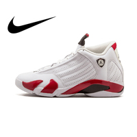 Original authentic NIKE Air Jordan 14 retro men's basketball shoes outdoor sports shoes domineering comfort Almighty 487471