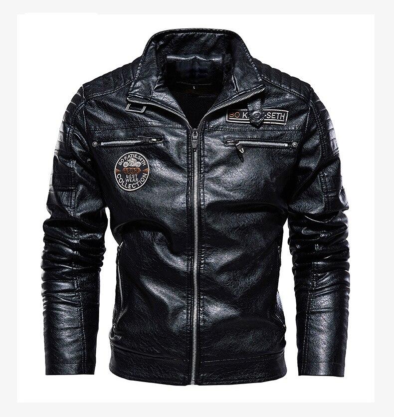 Haebe5f9ea3e94a9dac7b2c29dbd72edcw Men's Natural Real Leather Jacket Men Motorcycle Hip Hop Biker Winter Coat Men Warm Genuine Leather Jackets plus size 3XL