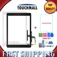 Сенсорный экран дигитайзер+ Замена кнопки Home для iPad Air 1 для iPad 5 A1474 A1475 A1476 белый черный+ Инструменты