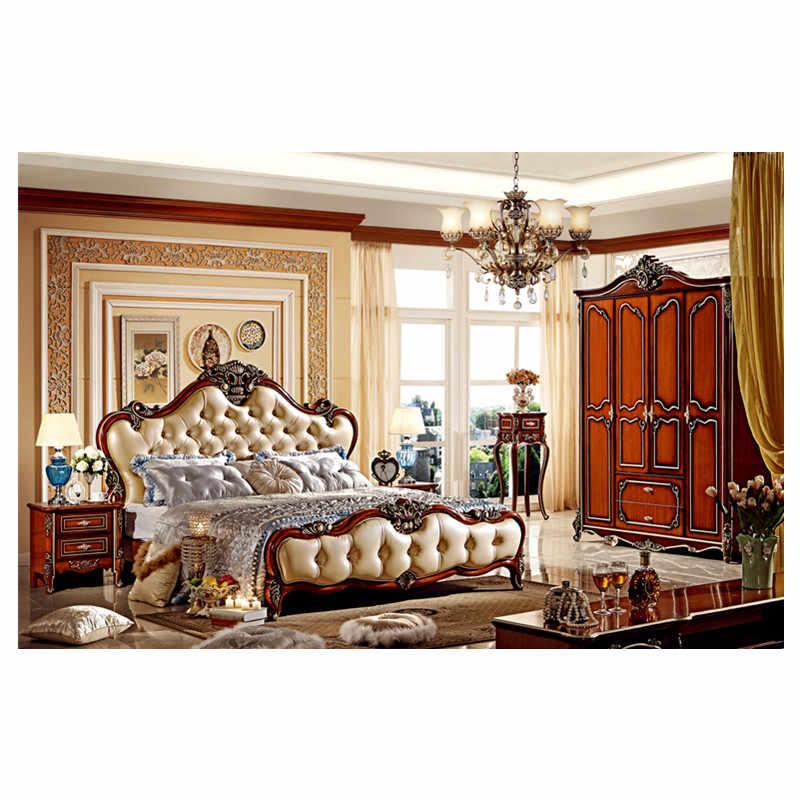 Home Furniture Classic Design Wooden Leather Bed Designer Wooden Beds Wooden Bedwooden Beds Design Aliexpress