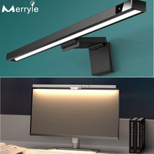 Computer Monitor Screen Hanging Light 450mm 3Colors Led Smart Reading Desk Table Lamp for Office Study Reading Eye Protection