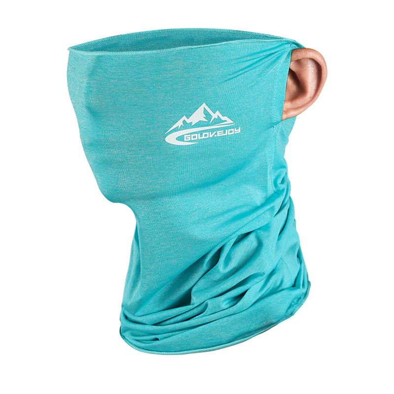 Ice Silk Sunscreen Mask Summer Male Ms. Riding Magic Scarf Multifunction Outdoor Sports Dust-Proof Collar 1
