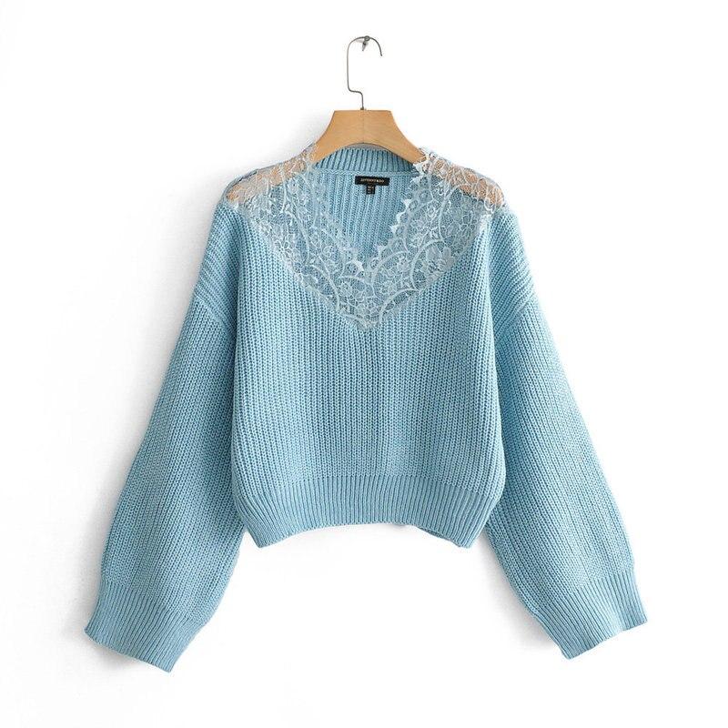 JFN50-1740 European And American Fashion Plush Sweater