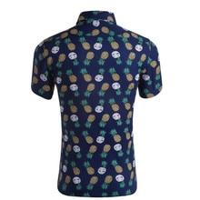купить 2019 Brand New Mens Short Sleeve Beach Hawaiian Shirts Summer Cotton Casual Floral Shirts Plus Size XXL Mens clothing Fashion дешево