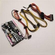 Pico box X7 ATX 500 pcコンピュータ 500 ワットハイパワーdc 24pin atxミニpsu電源デュアル入力 16 〜 24 280vワイドレンジ電圧