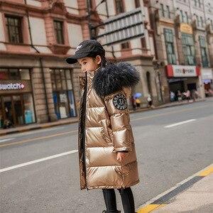 Image 3 - Anorak dhiver étanche pour filles, manteau de neige avec capuche, à porter à lextérieur, mode enfants 2020