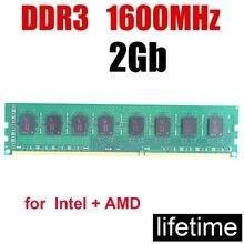 Memória-memoria RAM Ddr3 de 2Gb, 1600 PC3-12800 / 4 gb DIMM, 1600 V, 240 pines, 16G, 8Gb, 8/resolver el ordenador lentamente, 2G, 1,5 MHz