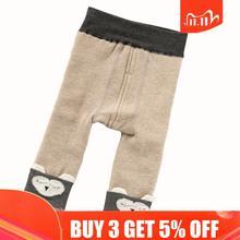 Baby Leggings Pants Children Velvet Cartoon for Boys And Girls Warm 1-3-Years Thickening-Models