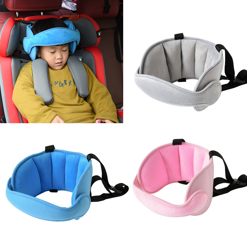 Fixed-Sleeping-Pillow Playpen-Headrest Car-Seat-Head Neck-Protection Comfort Safety Baby