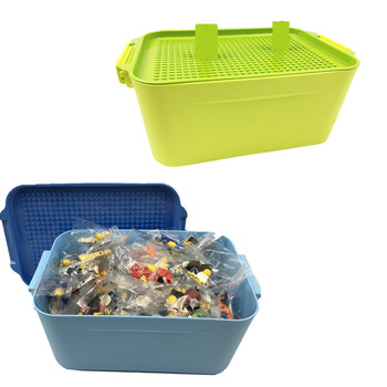Building Blocks Bricks DIY  Storage Box for Boy & Girl Toy Gift - 100 60 Pcs  1